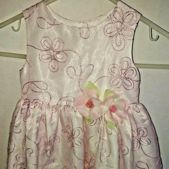 Special Occasions Dresses Pink Baby Girl Princess Flower